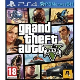 GTA 5 SECUNDARIA PS4
