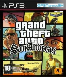 GTA San Andreas PSN