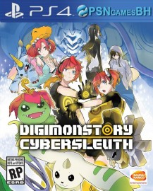 DIGIMON STORY CYBER SLEUTH LAUNCH BUNDLE PSN PS4 CONTA SECUNDARIA