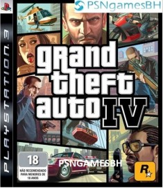 Gran Theft Auto IV PS3 PSN