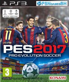 PES 17 PSN PS3