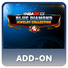 addon NBA 2K13 BLUE DIAMOND JEWELRY COLLECTION + ALL STAR GAME PSN