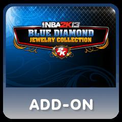addon NBA 2K13 BLUE DIAMOND JEWELRY COLLECTION + ALL STAR GAME PSN
