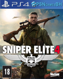 Sniper Elite 4 SECUNDARIA PS4