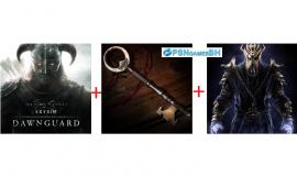 Pacote Dlcs Skyrim: Dawnguard + Dragonborn + Hearthfire PSN PS3