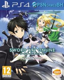 Sword Art Online: Lost Song Secundaria PS4