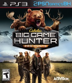 Cabelas Big Game Hunter Pro Hunts PS3 PSN