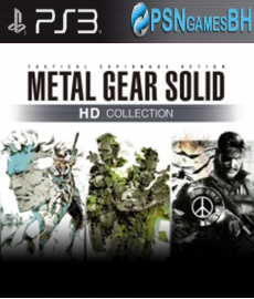 Metal Gear Solid HD Collection PSN PS3