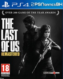 The Last Of Us REMASTERED Secundaria PSN PS4