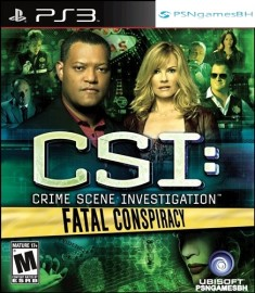CSI : Fatal Conspiracy PSN