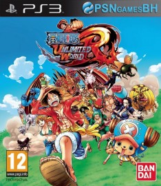 ONE PIECE Unlimited World Red PSN PS3