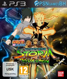 NARUTO SHIPPUDEN Ultimate Ninja STORM Revolution PSN PS3