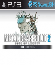 Metal Gear Solid 2 HD PSN PS3