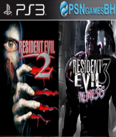 Resident Evil 2 + 3 PSN PS3