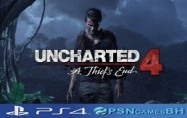 UNCHARTED 4: A Thiefs End SECUNDARIA PSN PS4
