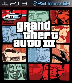 Grand Theft Auto 3 PS3 PSN