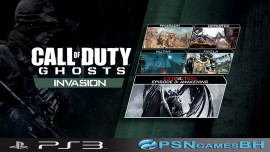 Call of Duty Ghosts Invasion PS3 PSN