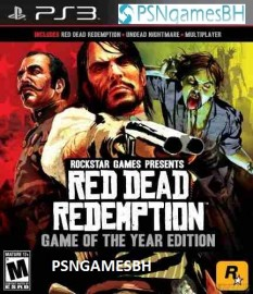 Red Dead Redemption Collection ( RDR + RDR Undead Nigthmare) PSN