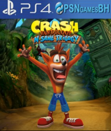 Crash Bandicoot N. Sane Trilogy VIP PS4