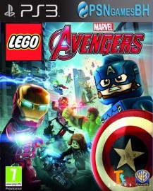 LEGO Marvel Avengers PSN PS3