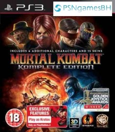 Mortal Kombat Komplete Edition Portugues PSN PS3