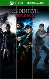 Pacote Triplo Resident Evil XBOX One