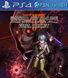 Sword Art Online: Fatal Bullet VIP PS4