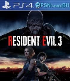 Resident Evil 3 Secundaria PS4
