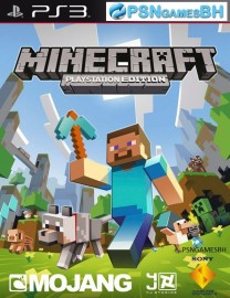 Minecraft PSN PS3