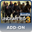 Dlcs Uncharted 3 : Drake's deception  PSN