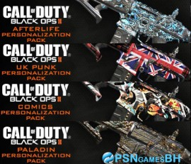 Call Of Duty Black Ops2 Personalization Pack 5 PS3 PSN