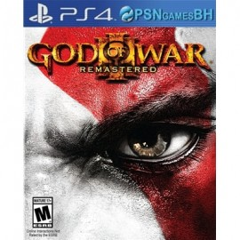 God of War 3 Remastered SECUNDARIA PSN PS4