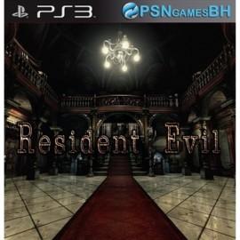 Resident Evil PSN PS3