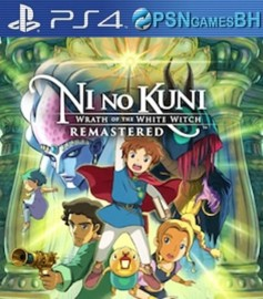 Ni no Kuni: Wrath of the White Witch Remastered VIP PS4