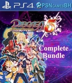 Disgaea 5 Complete Bundle VIP PS4