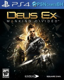 Deus Ex Mankind Divided SECUNDARIA PS4