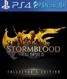 FINAL FANTASY XIV: Stormblood Collector's Edition VIP PS4