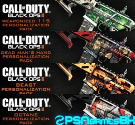 pack4 Personalization Packs Black ops 2 Psn