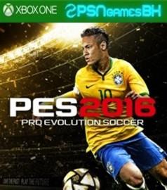 PES 16 XBOX ONE