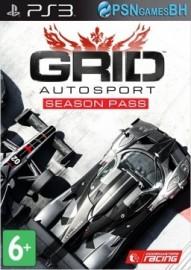 Season Pass GRID Autosport PSN PS3
