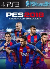 PES 18 PSN PS3