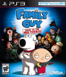 Family Guy: Back to the Multiverse PSN