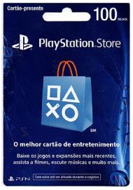 Card PSN 100 reais
