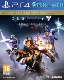 Destiny The Taken King Legendary Edition  PS4 PSN CONTA SECUNDARIA