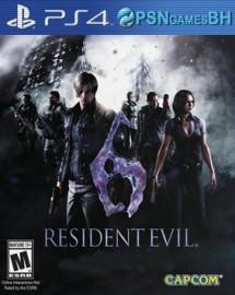 Resident Evil 6 Secundaria PS4