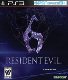 Resident Evil 6 PSN PS3