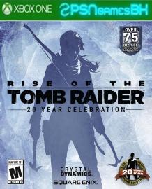 Rise of the Tomb Raider: Comemoração de 20 anos XBOX ONE