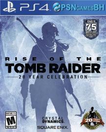 Rise of the Tomb Raider: Comemoração de 20 anos VIP PS4