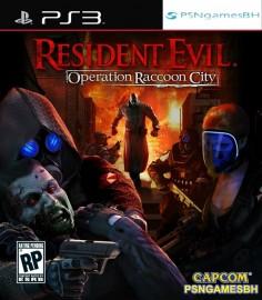 Resident evil operation raccon city PSN