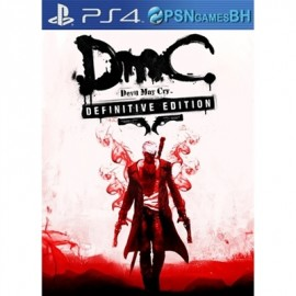 Devil May Cry: Definitive Edition PSN PS4 CONTA SECUNDARIA